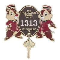 Disney Parks Chip & Dale Hollywood Tower Hotel Pin New with Card