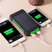 Portable Universal Waterproof Solar Power Battery Charger