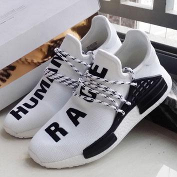 Image of ADIDAS NMD Human Race Fashion Women Breathable Running Sneakers Sport Shoes