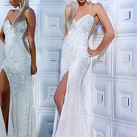 MNM Couture 8331 | Military Ball Gowns | Prom Dresses | Homecoming Dresses | Pageant Gowns | GownGarden.com