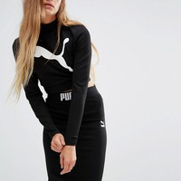 Puma | Puma Exclusive to ASOS Long Sleeve Crop Top Co Ord at ASOS