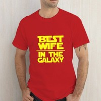 Best Wife In The Galaxy Red Tshirt