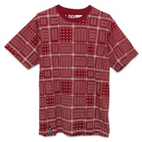 LRG RC Knit One T-Shirt - Mens Tee - Red