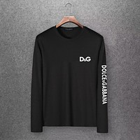 Dolce&Gabbana Men Fashion Casual Top Sweater Pullover Hoodie