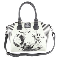 Loungefly The Nightmare Before Christmas Sketch Bag