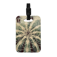 "Angie Turner ""Cactus"" Plant Decorative Luggage Tag"