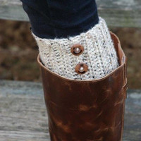 Women's Leg Warmers With Buttons, Boot Toppers, Boot Cuffs, Boot Socks, legwarmers, more colors available