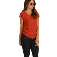 Rust Bright Side Blouse