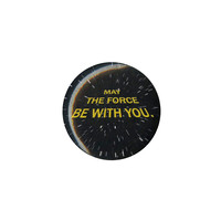 Star Wars May The Force Be With You Pin
