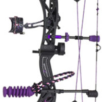 2014 Bowtech Carbon Rose Ready to Hunt Compound Bow Package for Women - Hunter's Friend