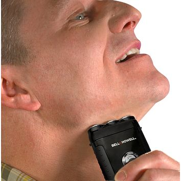 Bell + Howell 2 in 1 Rechargeable Tac Shaver