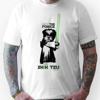 May the Force Be Shih Tzu Unisex T-Shirt