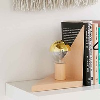 Triangle Bookend Lamp