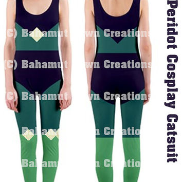 Peridot Steven Universe Cosplay Catsuit