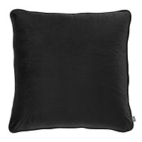 Black Square Pillow   Eichholtz Roche   Modern Luxury Home Decor   Decorative Pillow For Couch Or Bed