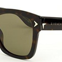 Givenchy 7011/S Sunglasses-0086 Dark Havana (E4 Brown Lens)-55mm