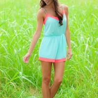 Everything Leads To You Romper