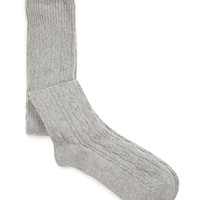 FOREVER 21 Textured Knee-High Socks