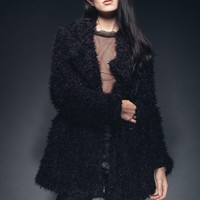 Midnighter Faux Fur Shaggy Jacket