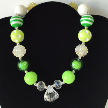 Green Bubblegum Necklace