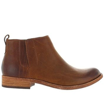 Kork-Ease Velma - Brown Leather Pull-On Bootie