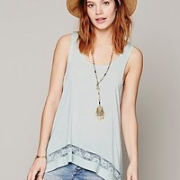 Intimately Womens Outlined High Low Cami
