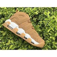 Nike Air more uptempo taupe Basketball Shoes 40-46