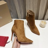 CL  Women Casual Shoes Boots fashionable casual leather Women Heels Sandal Shoes