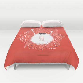 Live, Laugh, and Love.. Duvet Cover by LilaVert | Society6