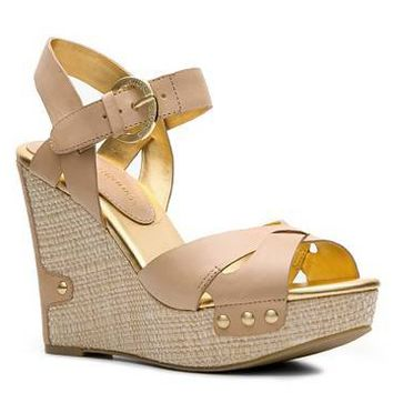 Audrey Brooke Haleen Wedge Sandal