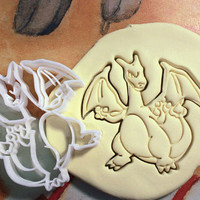 Charizard Pokemon Cookie Cutter - Made from Biodegradable Material