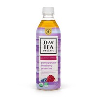 Teas' Tea Organic Pomegranate & Blueberry Green Tea, 16.9 fl oz (500 mL)