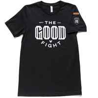 The Good Fight Tee - Black