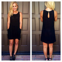 Damsel In A Dress With Pockets - BLACK