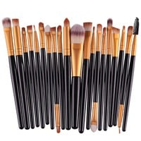 Makeup Brushes 20Pcs Eye Shadow Brushes Professional Make Up Brush Set Tools Kabuki Kit Set Cosmetics Makeup Brushes Maquiagem