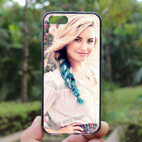 Demi Lovato,iphone 4 case,iPhone4s case, iphone 5 case,iphone 5c case,Gift,Personalized,water proof