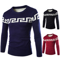 Crew Neck New Style Knit Sweater