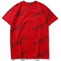 Balenciaga Trending Woman Men Stylish Print Casual Short Sleeve Sports T-Shirt Top Tee I/A