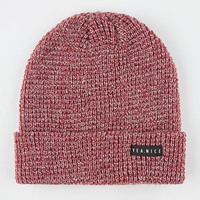 Yea.Nice The Folded Beanie Cranberry One Size For Men 26480232101