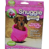 Snuggie for Dogs in Pink - As Seen on TV:Amazon:Pet Supplies