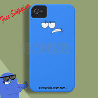 DrawClub IPhoneCase Blue Foster Home  Case Make to order Free Shipping and Sale  for summer time (only1-30 april)