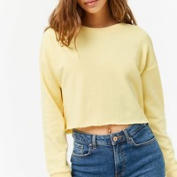 Raw-Cut French Terry Sweatshirt