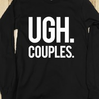Couples-Unisex Black T-Shirt