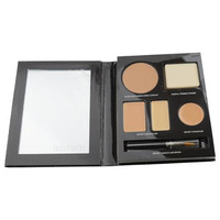 Laura Mercier The Flawless Face Book - # Tan (1x Creme Compact 1x Pressed Powder W/ Sponge 1x Secret Camouflage...) --5p