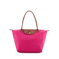 NWT Longchamp Le Pliage Large Tote Bag Cyclamen Pink Spring 2016 - MSRP