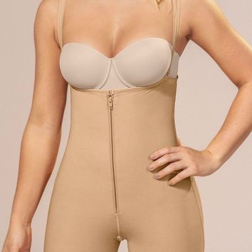 Strapless Body Shaper Shorts with Butt Lifter