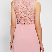 Pins And Needles Open Lace Back Dress