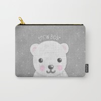 Snow Bear Carry-All Pouch by Noonday Design