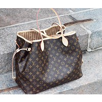 LV Louis Vuitton Fashion Classic Women Shopping Bag Leather Tote Handbag Shoulder Bag Zipper Purse Wallet And Key Pouch-Coin Purse I