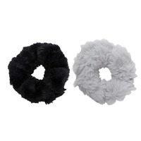 Faux Fur Scrunchie